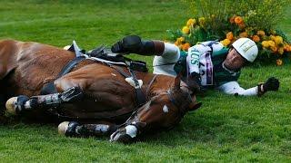 Риск конного спорта...
