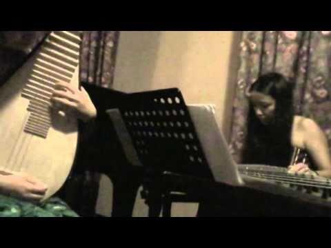 Wu Fei & Wang Zuo performing