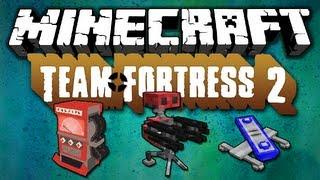 Minecraft [1.5.2] Team Fortress 2 - Mod Review - [German|HD]