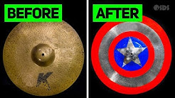 Can You Paint a Cymbal?