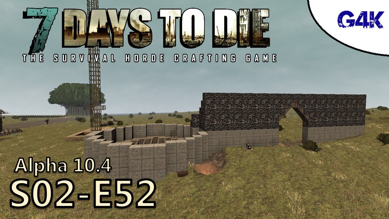 7 days to die gameplay s02e52 building a castle part 1 youtube. Black Bedroom Furniture Sets. Home Design Ideas
