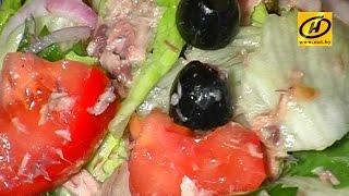 Салат из каперсов - сытно и диетично!