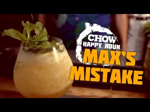 Save Max's Mistake and Accidental Cocktails - CHOW Happy Hour Images