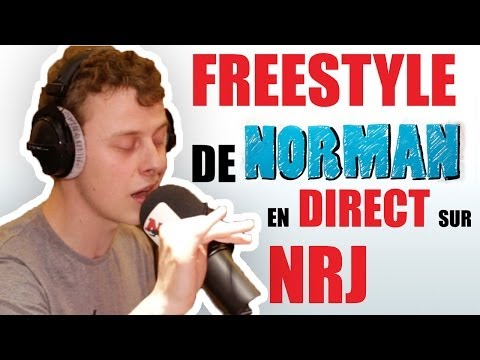 Freestyle de Norman sur NRJ