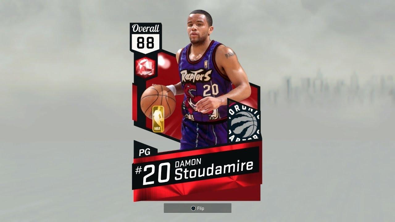 NBA2k17 MyTeam Ruby Damon Stoudamire Review