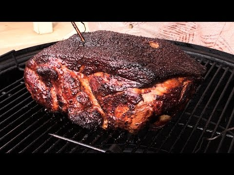 How-to Smoke Pork Butt on WSM (Hot & Fast)