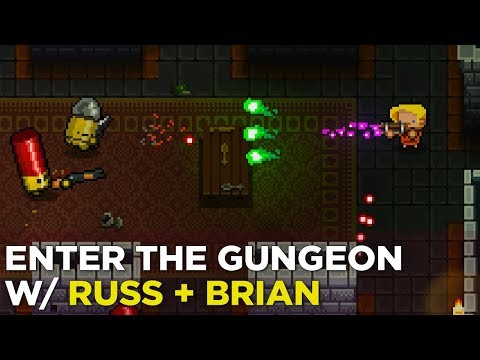 Enter the Gungeon is dope on Switch w/ Russ and Ol' Brian