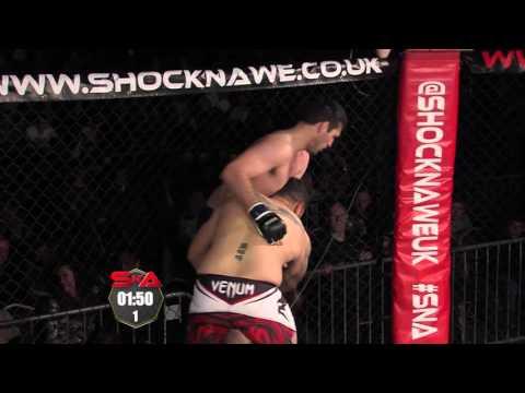 Shock N Awe 21 Pro Light Heavyweight MMA Ryan White vs Avi Jack