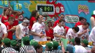 2011 Nathans Hot Dog Eating Contest (p1)