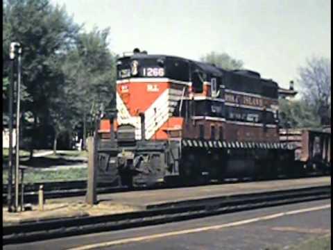 Rock Island Railroad Locomtives