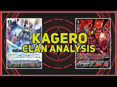 Kagero Clan Analysis and Deck Profile - Nouvelle V Series