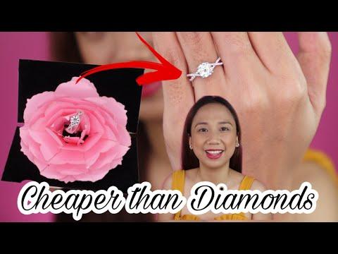 They are CHEAPER than Diamonds! OMG! Moissanite Jewelry Review | Feat. Doveggs Jewelry