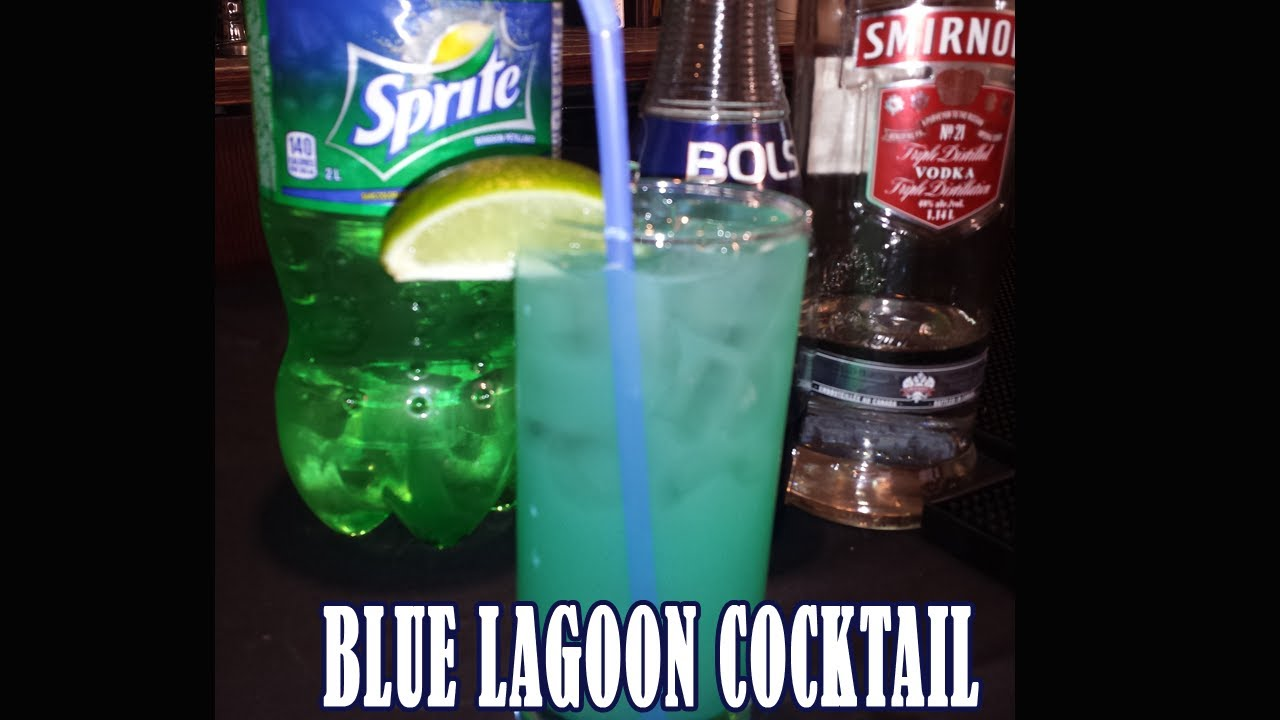 Blue lagoon drink how to make blue lagoon cocktail youtube for How to make martini cocktail