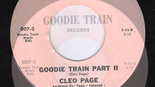GOODIE TRAIN PRT 1&2 - CLEO PAGE