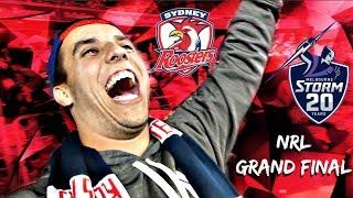 NRL GRAND FINAL DEMOLITION! | Sydney Roosters v Melbourne Storm | Game Day Experience | Vlog