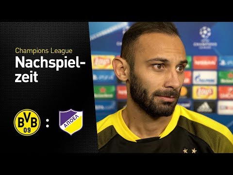 "Toprak: ""Of course we're disappointed"" | Borussia Dortmund - APOEL Nikosia | Interview"