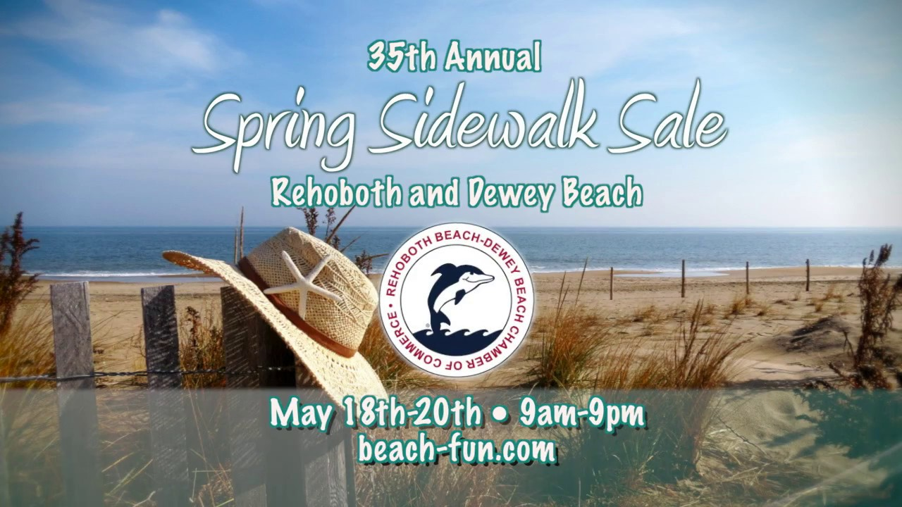Rehoboth Beach Dewey Chamber Of Commerce Sidewalk 2018