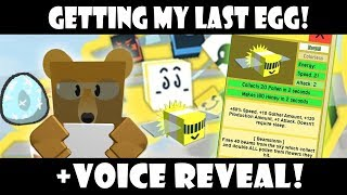 Getting my Last Bee! (25th) | Roblox