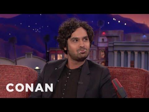 "Kunal Nayyar Wants A ""Big Bang Theory"" Spin-Off  - CONAN on TBS"