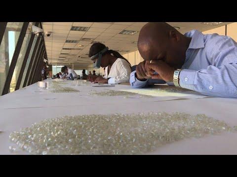 Off Namibia, An Underwater Diamond Harvest