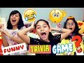 Funny Trivia Game - Sister Vs Sister - LOL Quiz Games With Friends : CHALLENGES // GEM Sisters
