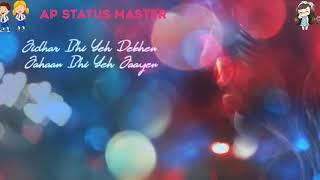 Tujhe Dhoondti Hai Ye Pagal Nigahen😢whatsapp status video sad Song ap status master