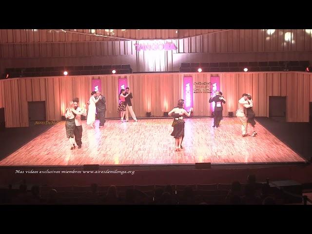 Mundial de tango  2021 Ronda 14 Pista, tema 1de3 Tango Buenos Aires #TangoBA