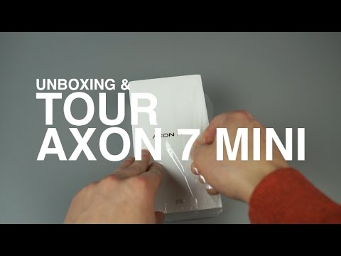 ZTE Axon 7 Mini Unboxing And Tour