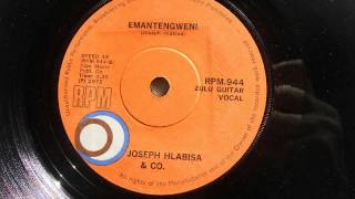 Joseph Hlabisa & Co. - Emantengweni (Zulu Guitar Vocal) (RPM 944)