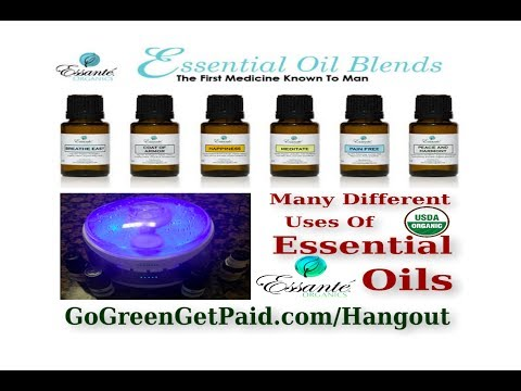 USDA Organic Essential Oils Testimonials From Essante Organics - Different Uses Of Essential Oils