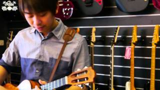 Yungsung Fang: Ben E. King - Stand by me - ukulele solo (cover)