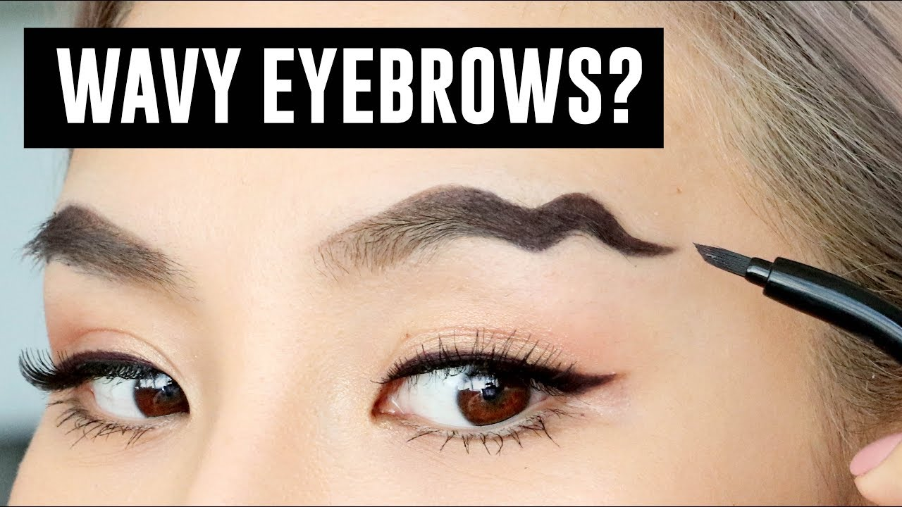 Wavy Brows- The Latest Makeup Trend