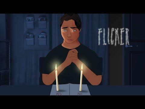 FLICKER - Short Animated Horror Movie (English)