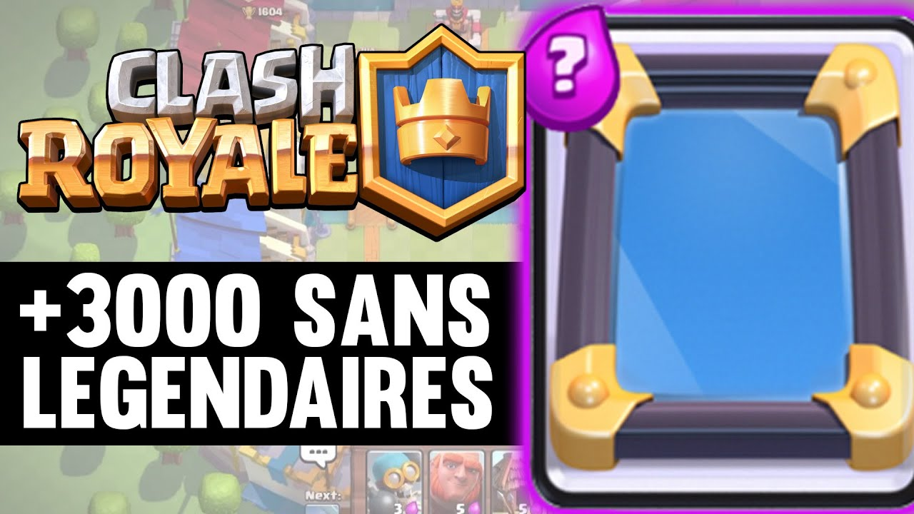 Ar ne 8 sans legendaires clash royale deck gameplay fr for Deck arene 5 miroir
