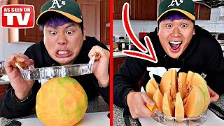 THIS INSTANTLY CUTS THROUGH ANYTHING!!!! (TESTING CRAZY KITCHEN GADGETS)