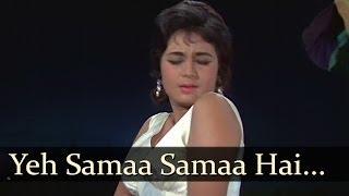 Jab Jab Phool Khile - Yeh Samaa Samaa Hai  - Lata Mangeshkar