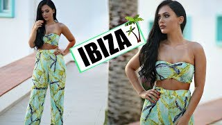 GRWM In IBIZA Glam Makeup & Outfit