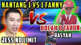 JESS NO LIMIT VS BOCAH 8 TAHUN - FANNY VS FANNY! BOCIL BERCANDA? RASYAH BERCANDA?