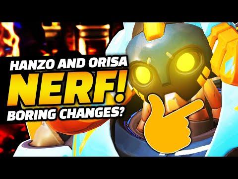 Overwatch - Orisa And Hanzo NERFS! Dva BUFF! Boring Changes?