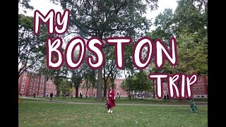 MY BOSTON TRIP | Toni Gonzaga