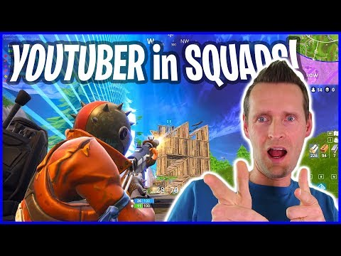 Playing Squads I Found a Youtuber!
