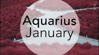 The hard times are over! Aquarius January 2019