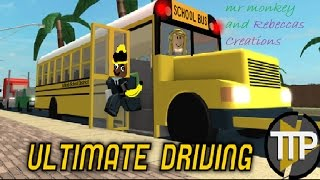 ROBLOX Ultimate Driving:Newark(EPISODE 12)w/mr monkey