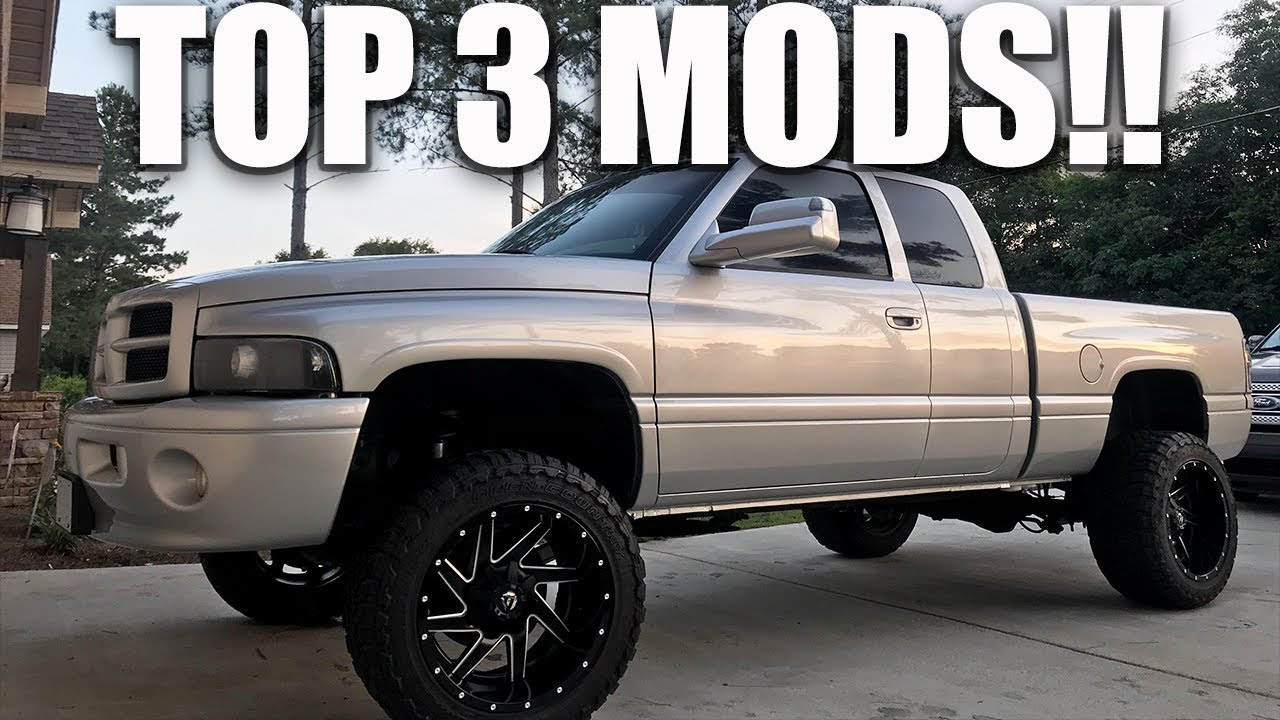 top 3 mods under 100 for a 2nd gen dodge ram youtube top 3 mods under 100 for a 2nd gen dodge ram
