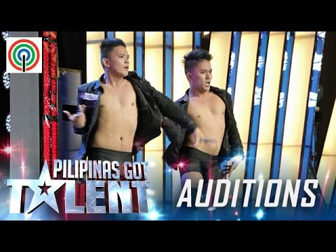 Pilipinas Got Talent Season 5 Auditions: Twin Brothers - Dance/Acrobatic Duo