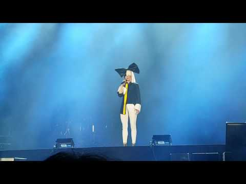 Véronic Dicaire | Sia Chandelier Impressionist | Live 2017 Tour | Netherlands | Full HD