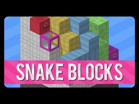 SNAKE BLOCKS - Creative Indie Puzzle Game!