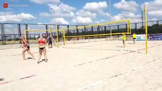 Пляжный волейбол Минск 2 - 0 Гродно (женщины)