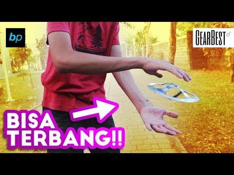 TRIK MAINAN UFO UNIK BISA TERBANG TANPA BATERAI !! Review & Unboxing INDONESIA | Buka paket
