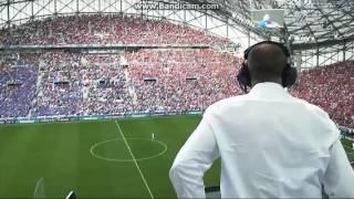 Magyarország 1-1 Izland: Gundel-Takács Gábor öröme